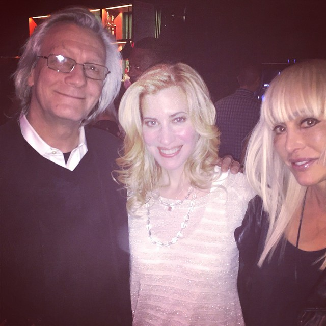Christmas party fun time with #JimKerr and #CarolMiller