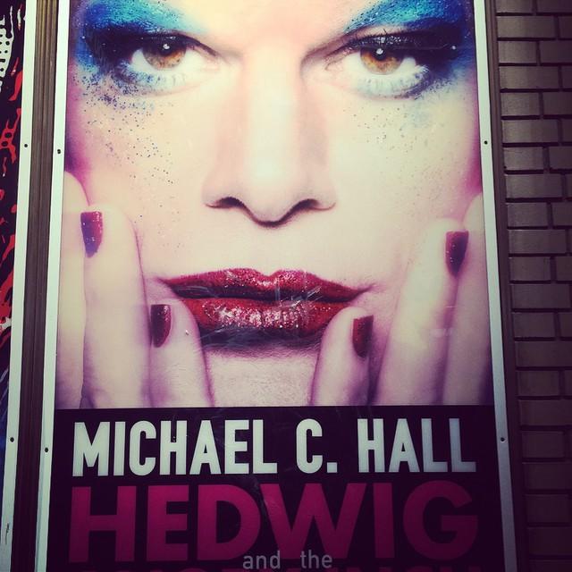 Happy Birthday to me! ❤️ #Hedwig #MichaelCHalll #Dexter #Broadway