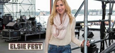 Christine Nagy hosting Elsie Fest
